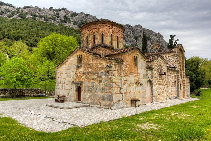 Porta Panagia church (built 1283 AD), Thessaly