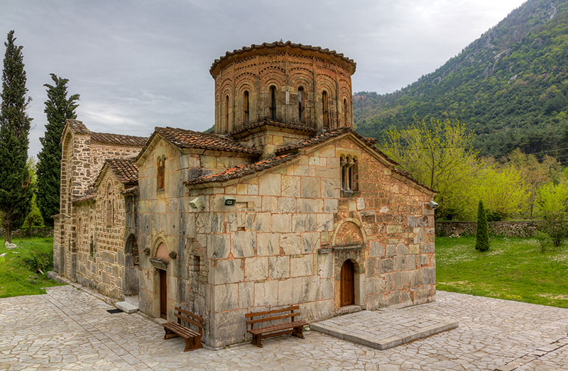 Porta Panagia church (built 1283 AD), Thessaly