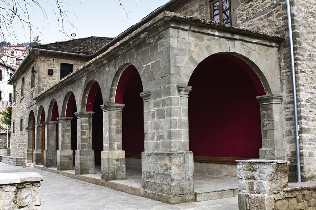 Old Byzantine church in Metsovo, Greece
